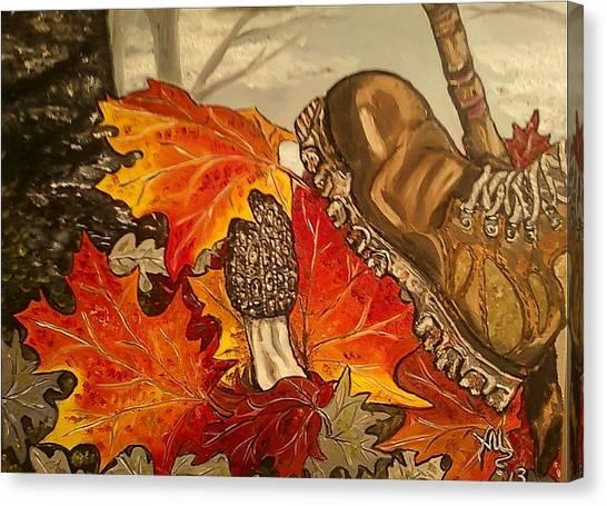 Involuntary Mushroom Slaughter Canvas Print