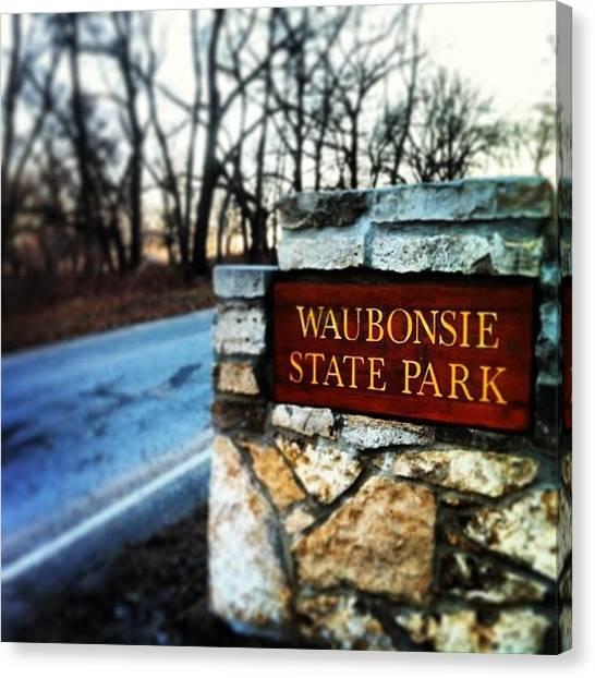 Iowa Canvas Print - Waubonsie State Park by Zach Steele