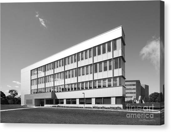 Iowa State University Canvas Print - Iowa State University Bio-renewables Research Laboratory by University Icons