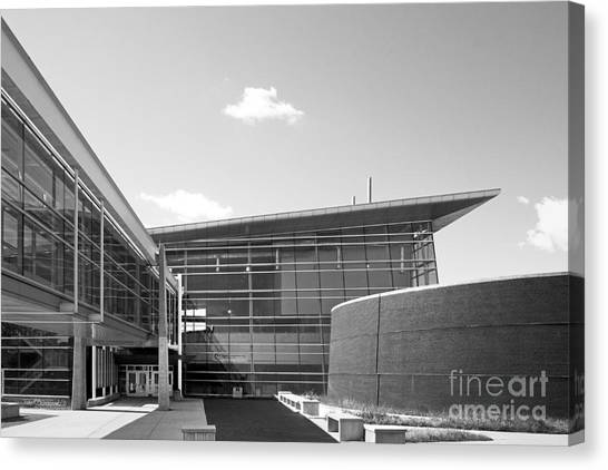 Cyclones Canvas Print - Iowa State University Howe Hall by University Icons