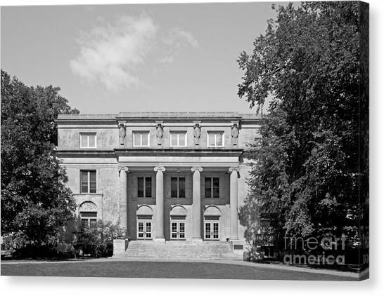 Iowa State University Canvas Print - Iowa State University Mackay Hall by University Icons