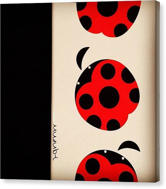 Ladybugs Canvas Print - Iphone Case by Terrence Jeffrey Santos