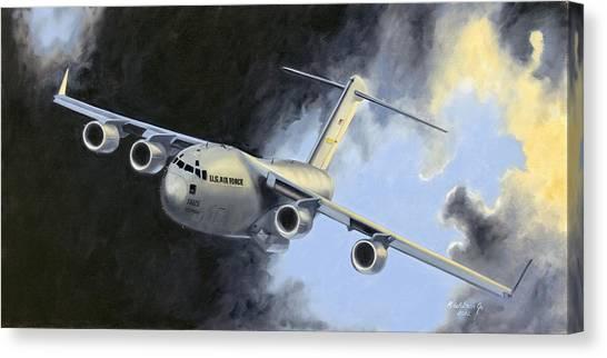 Iraqi Bound Canvas Print