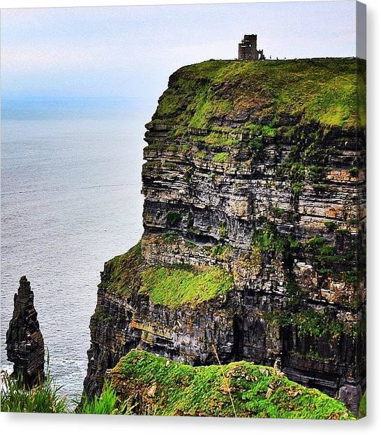 Ireland Canvas Print - #ireland #cliffsofmoher #landscape by Luisa Azzolini