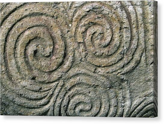 Ireland, County Meath, Newgrange Canvas Print by Jaynes Gallery