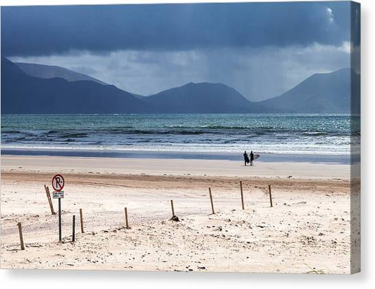 Ireland - Inch Beach Canvas Print