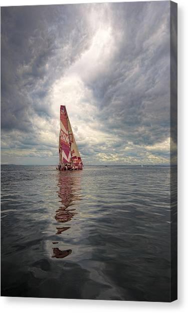 Ireland Sail Canvas Print by Chris Cameron