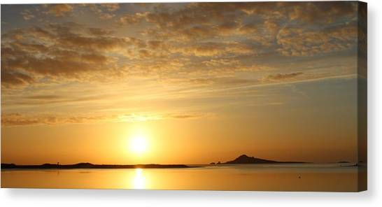 Irelands Eye At Dawn Canvas Print