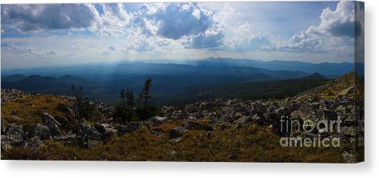 Ural Mountains Canvas Print - Iremel by Tatiana Sapozhnikova