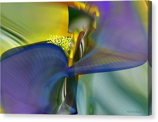 Iris - Abstract Art Canvas Print
