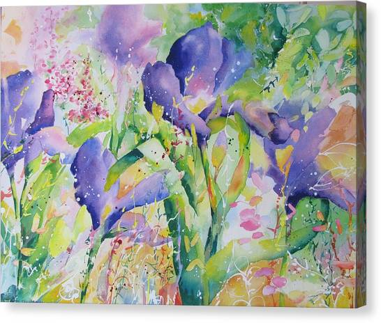 Iris And Friends Canvas Print
