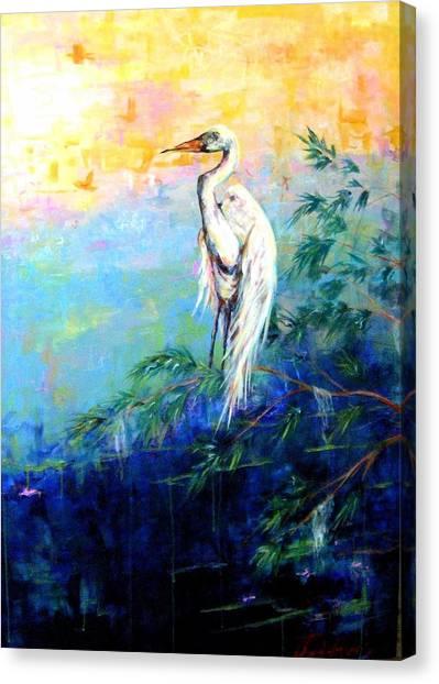 Iris Canvas Print by Dawn Gray Moraga
