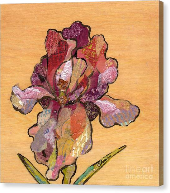 Irises Canvas Print - Iris II - Series II by Shadia Derbyshire