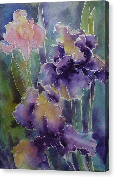 Iris Love Canvas Print