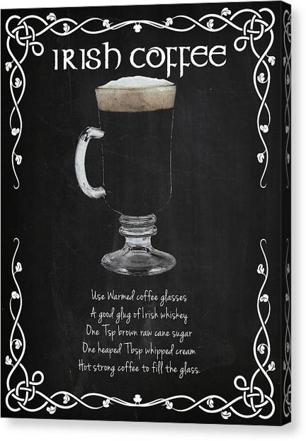 Rum Canvas Print - Irish Coffee by Mark Rogan