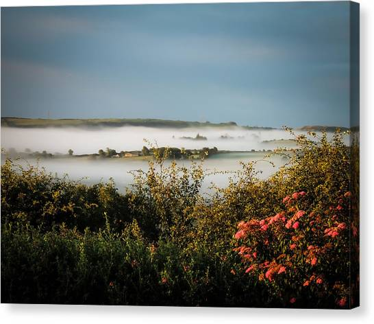Irish Mist Over Lissycasey Canvas Print