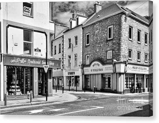Irish Shops Canvas Print