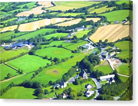 Irish Skyscape Canvas Print