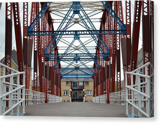 Big Red Canvas Print - Iron Bridge by Ryan Wilde