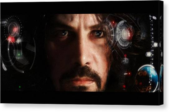 Iron Man... Canvas Print