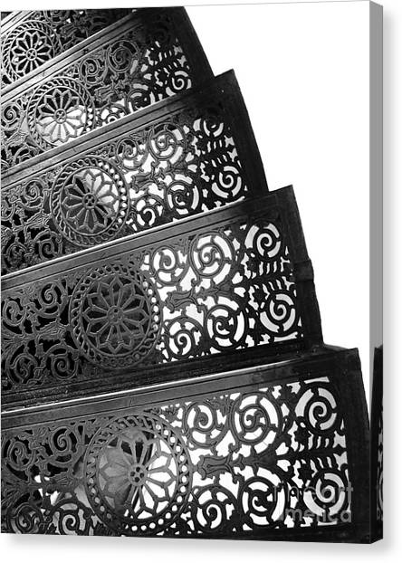 Iron Stairs Canvas Print
