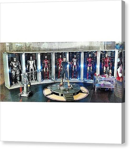 Spam Canvas Print - #ironmancollection #ironman #ironman3 by Afiq Rashid