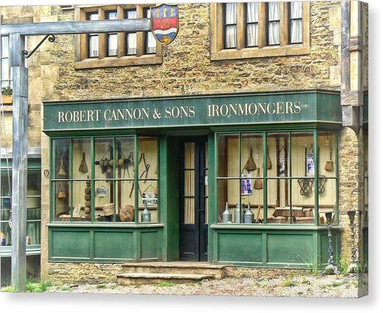 Ironmongers In Candleford Canvas Print