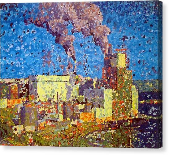 Irving Pulp Mill Canvas Print