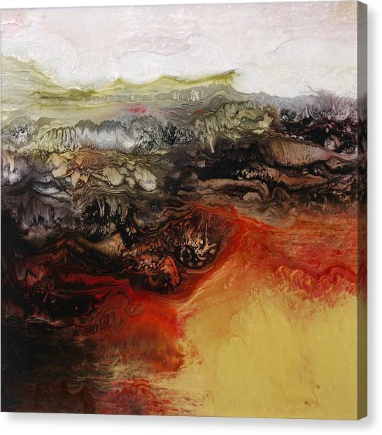 Is There Life On Mars Sold Canvas Print by Lia Melia