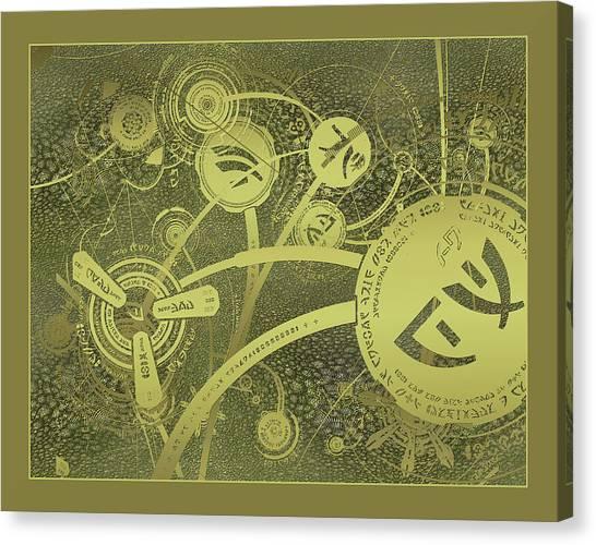 Isaac Caret Texture Canvas Print