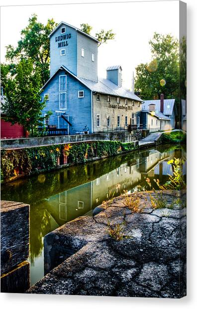 Isaac Ludwig Mill Canvas Print