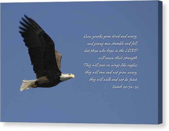 Isaiah 40 Canvas Print