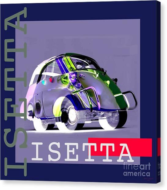 Isetta Canvas Print