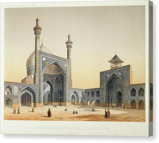 Islam Canvas Print - Isfahan by British Library