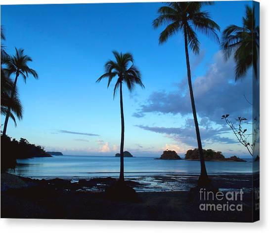 Tahiti Canvas Print - Isla Secas by Carey Chen