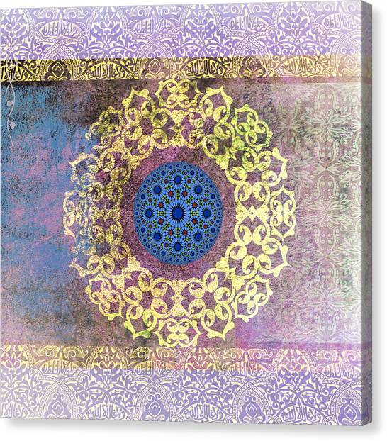 Catf Canvas Print - Islamic Motive by Corporate Art Task Force