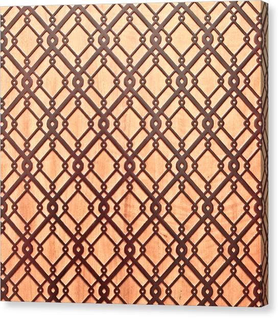 Geometric Canvas Print - Islamic Pattern by Tom Gowanlock