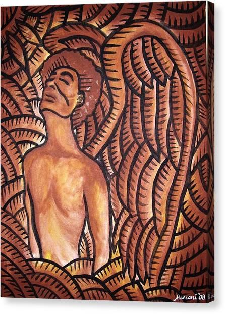Island Angel Canvas Print