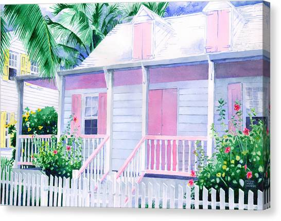 Island Charm Canvas Print