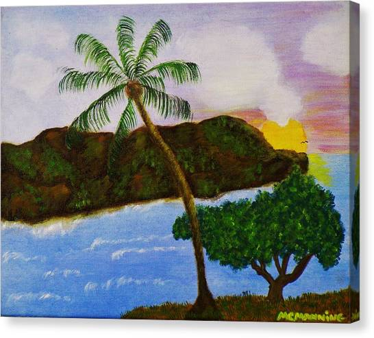 Island Escape Canvas Print