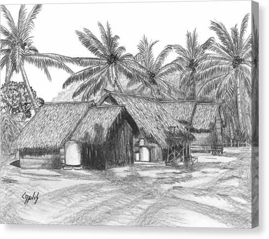 Island House 13 Canvas Print