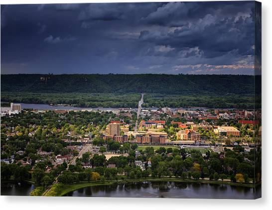 Mississippi State University Canvas Print - Island In The Storm by Al  Mueller