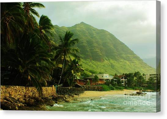 Island Living Canvas Print