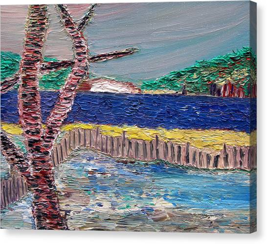 Island Of Hope Canvas Print