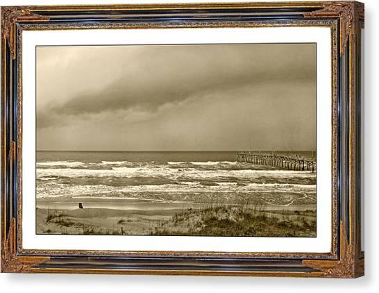 Tumbling Canvas Print - Island Storm by Betsy Knapp