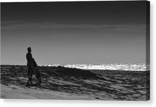 Island Surfer  Canvas Print