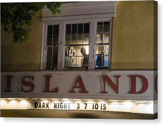 Island Theater Canvas Print