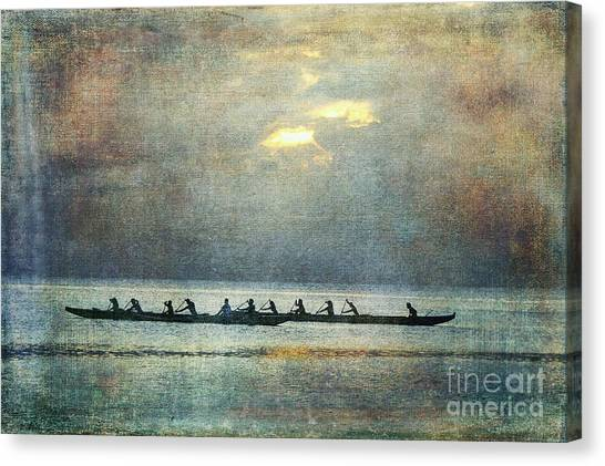 Island Traditions Canvas Print by Scott Cameron