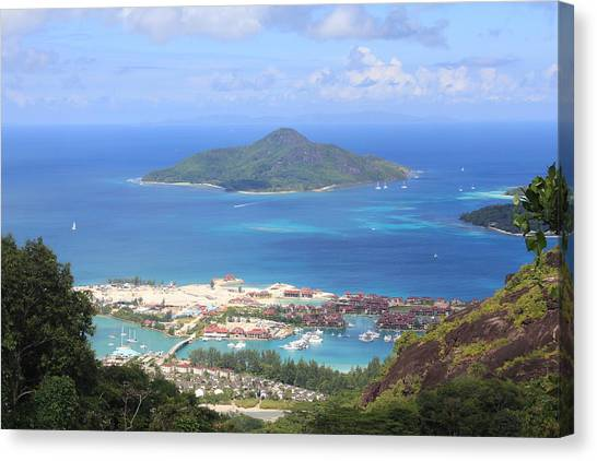 Canvas Print - Island View by Christine Rivers