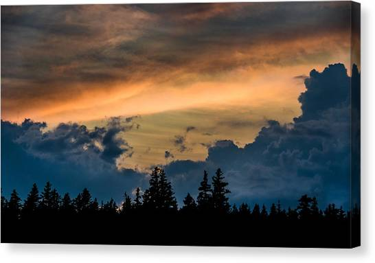 Isle Au Haut Sunset Canvas Print